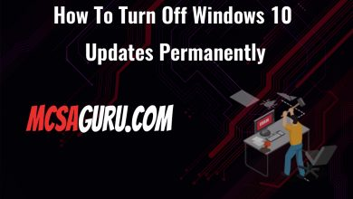 How To Turn Off Windows 10 Updates Permanently